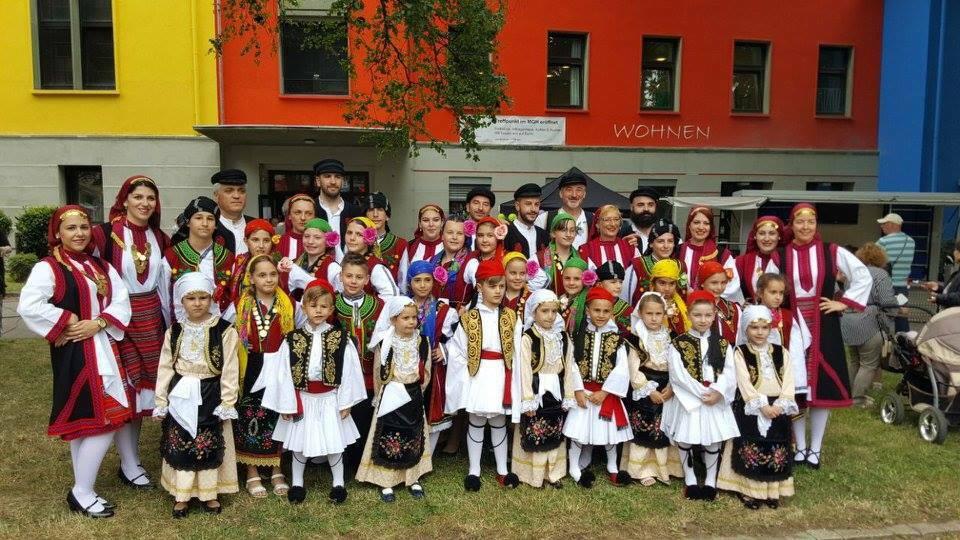Griechische Tanzgruppe